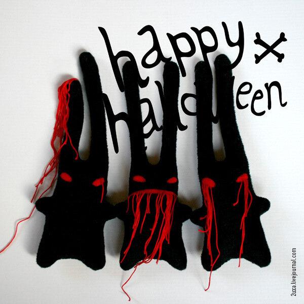 2uxa зайцы зомби (helloween)
