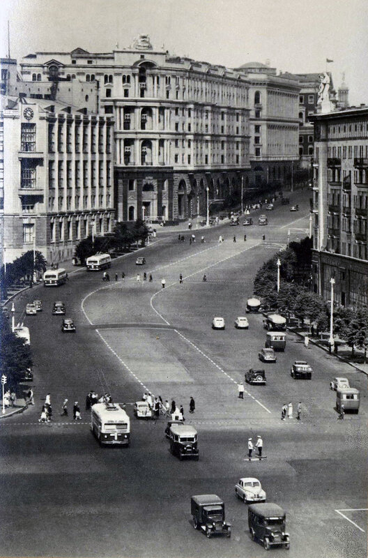 Москва. Улица Горького.1953 г.