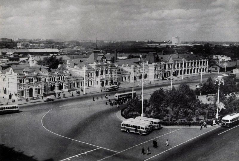 Москва. Рижский вокзал