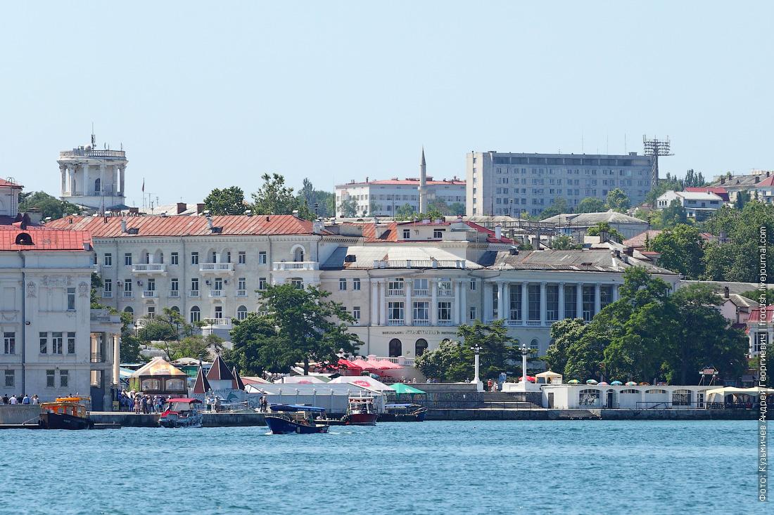 Артиллерийская бухта города Севастополя