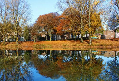 Парк в западной части Тильбурга