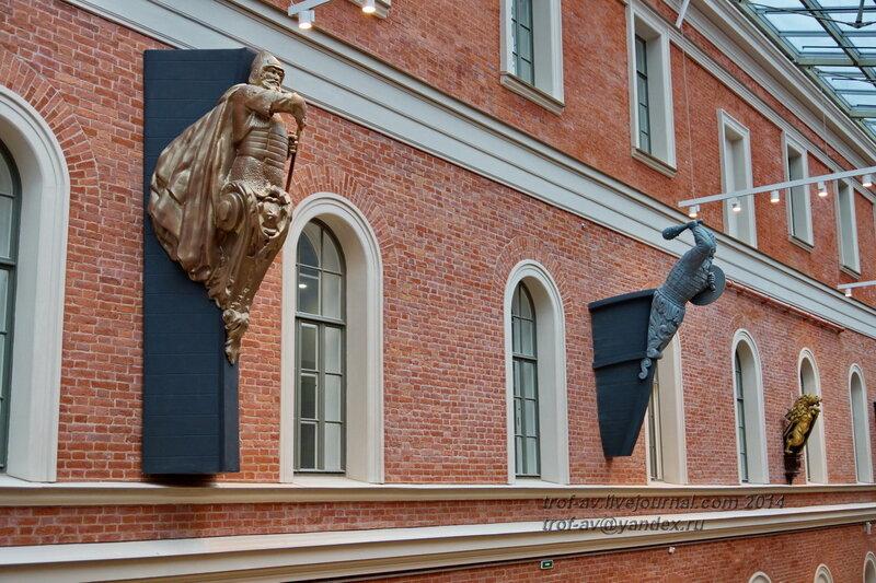 Носовое украшение российских военных кораблей, Центральный военно-морской музей, Санкт-Петербург