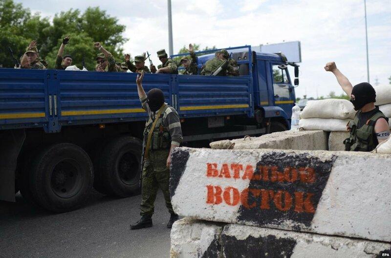 Хто розстрілює міста Донбасу
