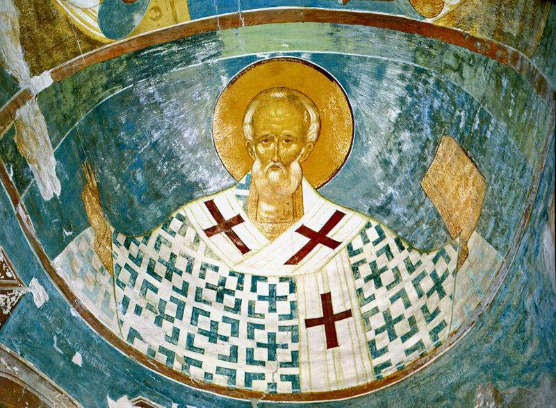 Дионисий. Свт. Николай. Ферапонтово. 1502