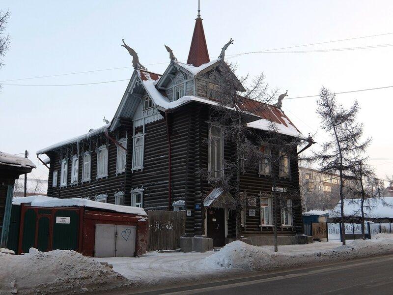 Томск - Дом с драконами