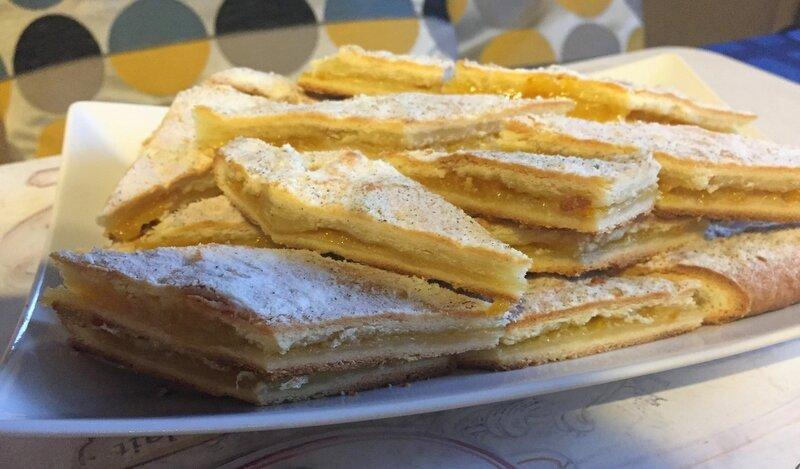 Лимонный пирог к утреннему кофе!