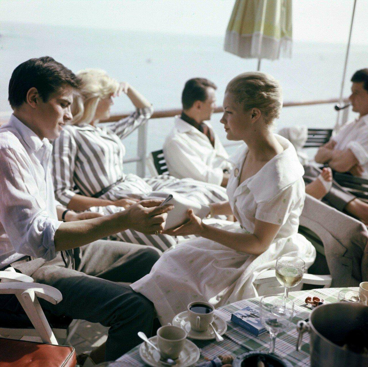 1959. С Роми в Каннах