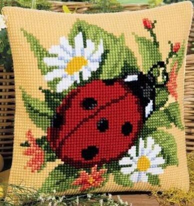 Схемы вышивки подушек с животными