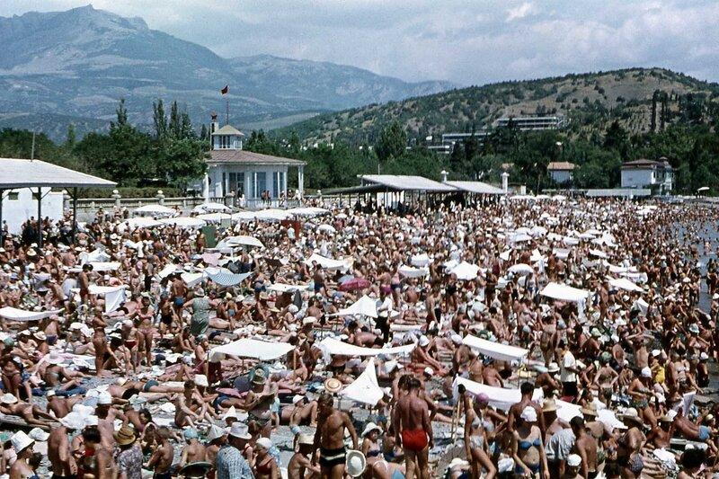 Алушта. 1968 год