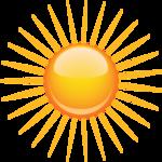 солнце, клипарт, png