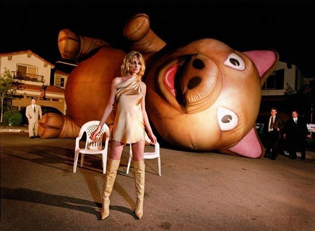 Эпатажное фото от David Lachapelle