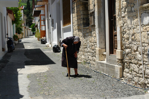В деревне Омодос