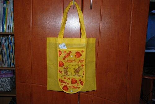 Преображаем хозяйственные сумки.