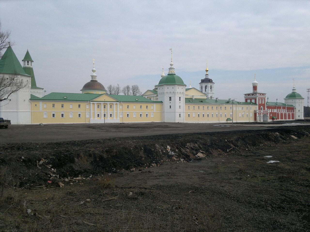 монастырь, бывшая псих. б-ца