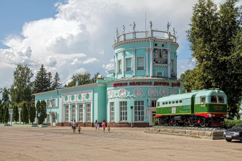 Станция Родина в Нижнем Новгороде