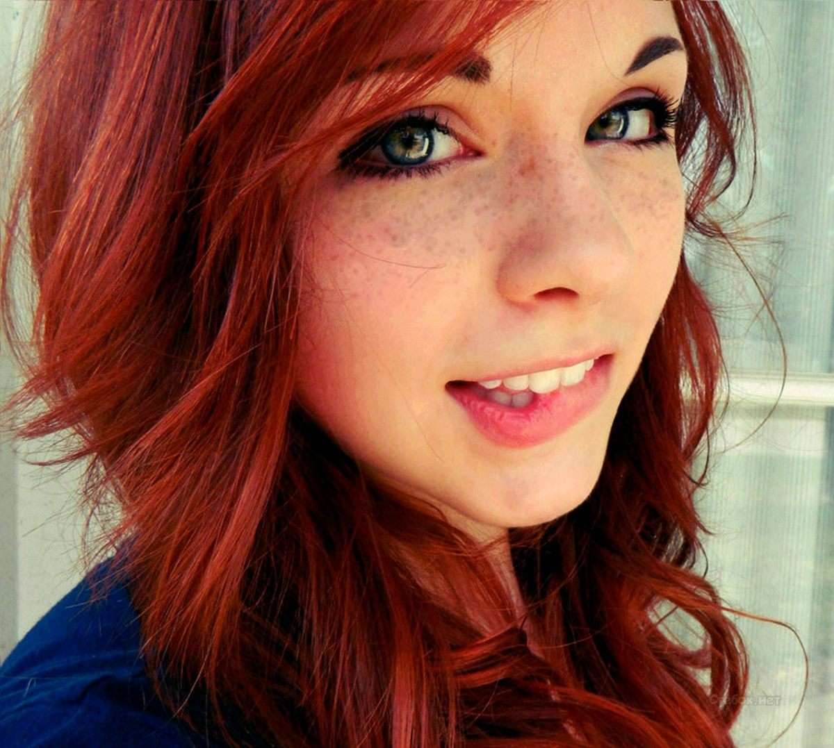 красивые фото рыжие девушки
