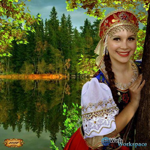 Русская красавица картинки 4 фотография