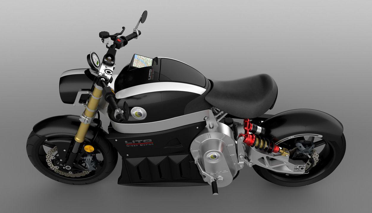 Мотоцикл из будущего