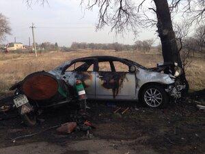 В Приморье полицейский за рулем «Тойоты» вылетел на встречку: погиб пожилой мотоциклист