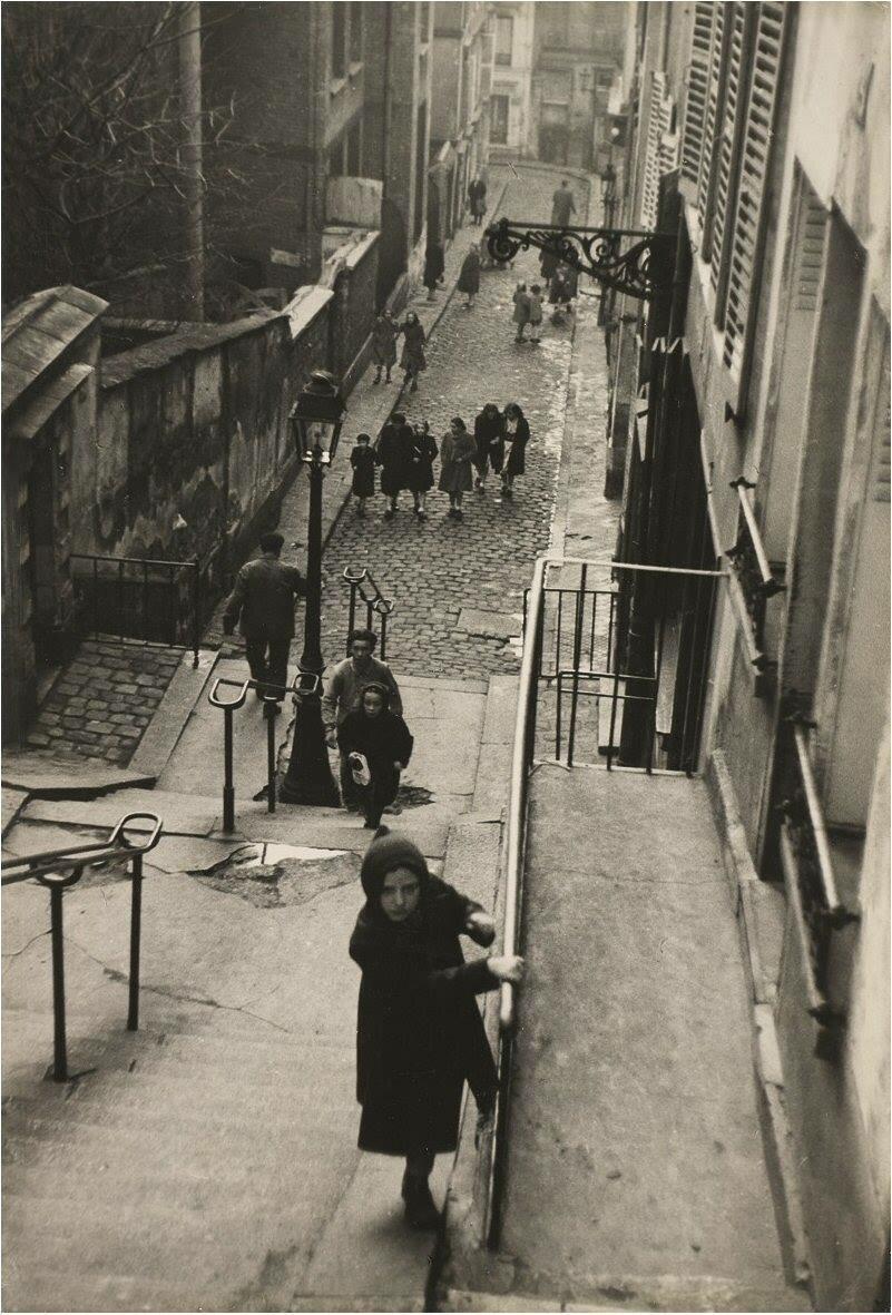 1951. На Монмартре