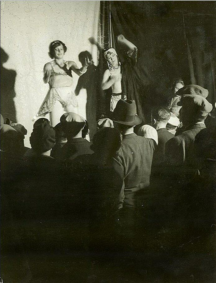 1931. Кончита танцует на бульваре Огюста Бланки