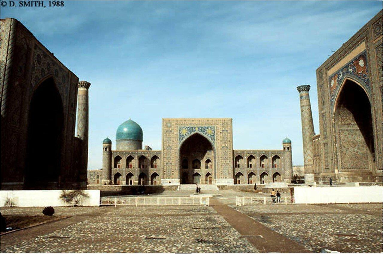 Самарканд. Площадь Регистан