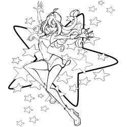 Раскраски винкс 2012 +игра одеваем стильную девушку!