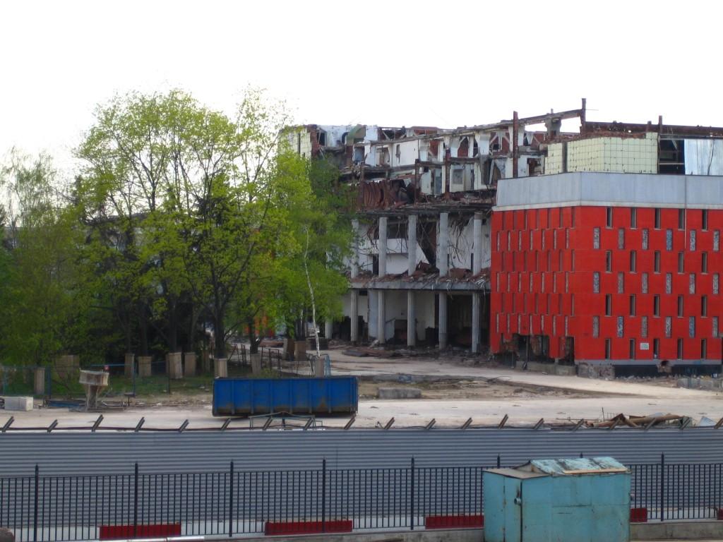 Бывшая гостиница «Россия»
