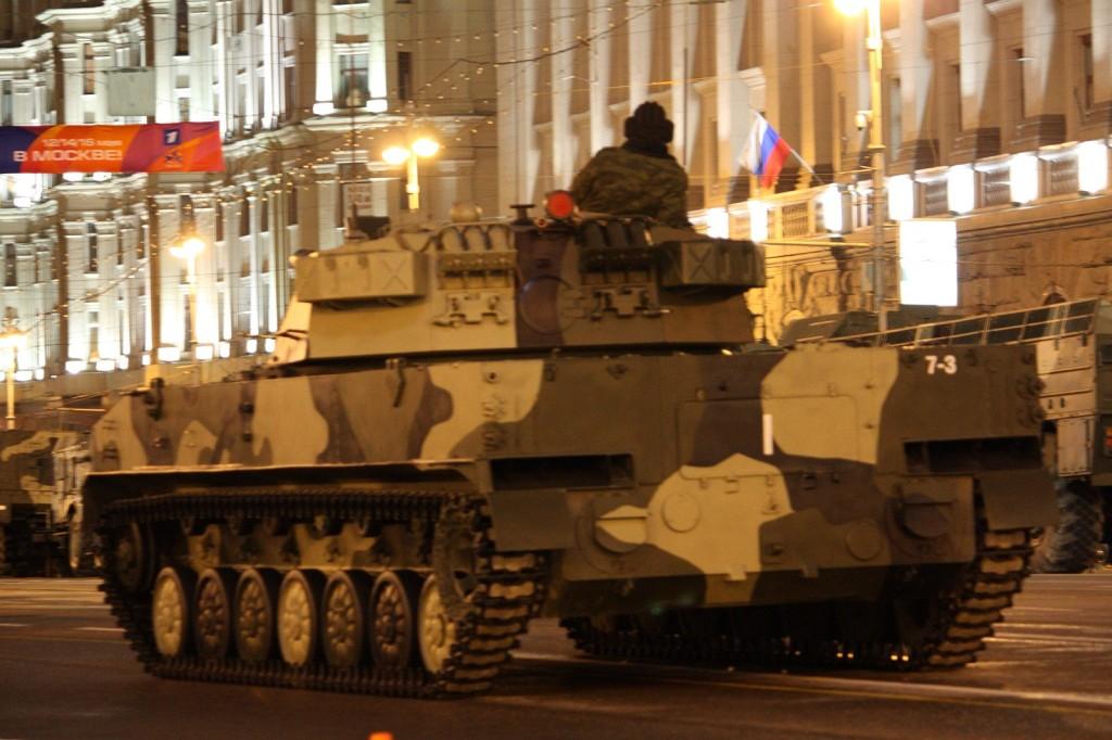 2С25 «Спрут-СД» — российская самоходная артиллерийская установка с противотанковой пушкой