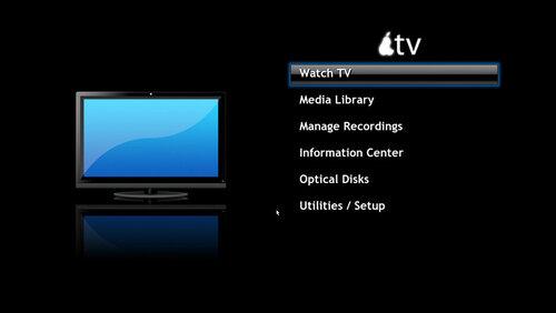 MythTV GUI