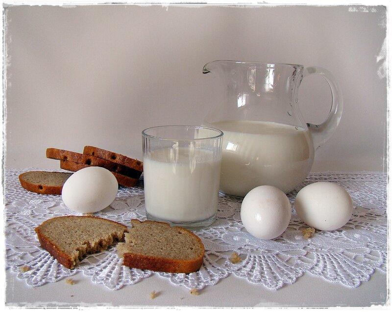 Деревенский завтрак.