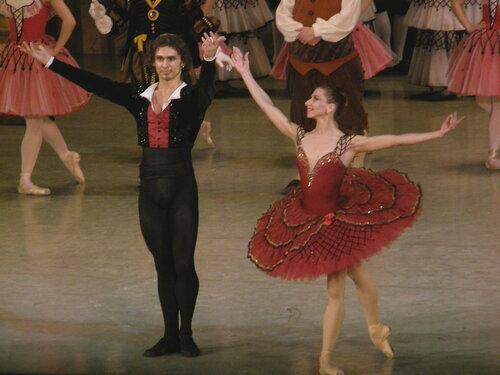 "Балет ""Дон Кихот"". Гранд па. Анна Жарова и Иван Васильев."