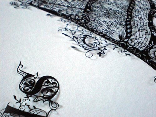 Бумажный арт от Hina Aoyama.