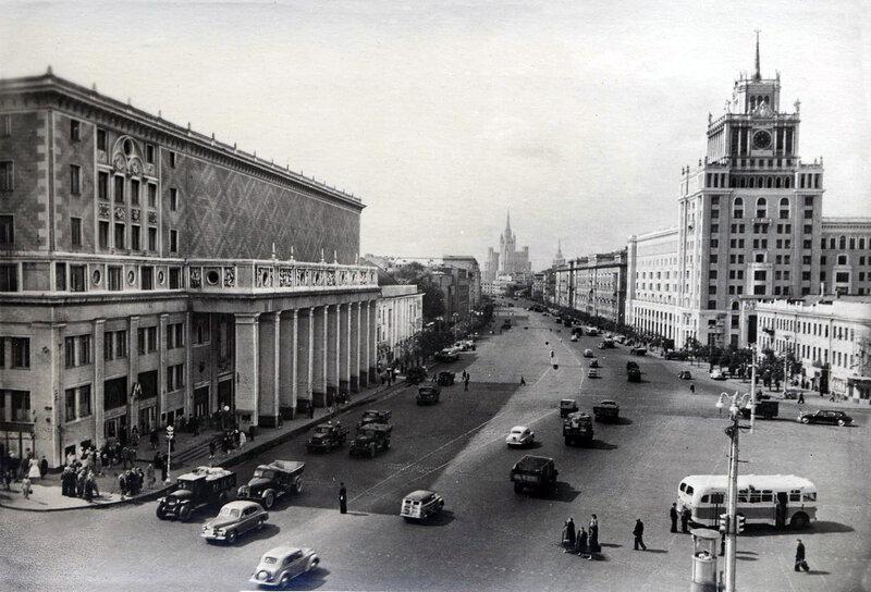Москва.Большая садовая улица. 1956 г.