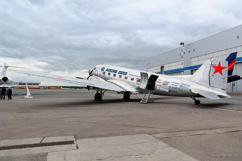 Douglas DC-3C (N4550J) D800872