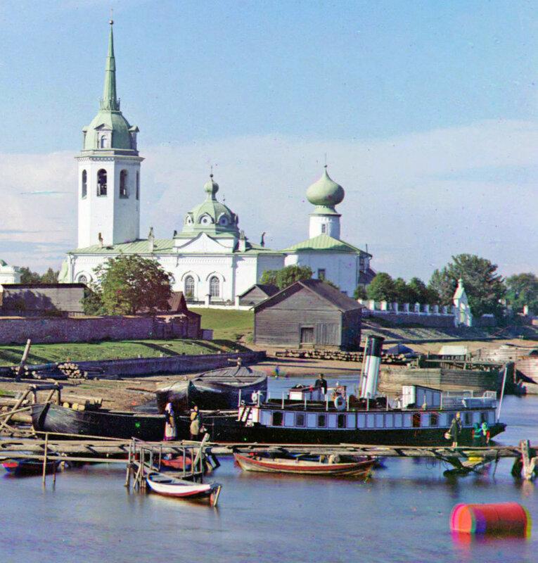 Новая Ладога в 1909 Прокудин-Горский3.jpg