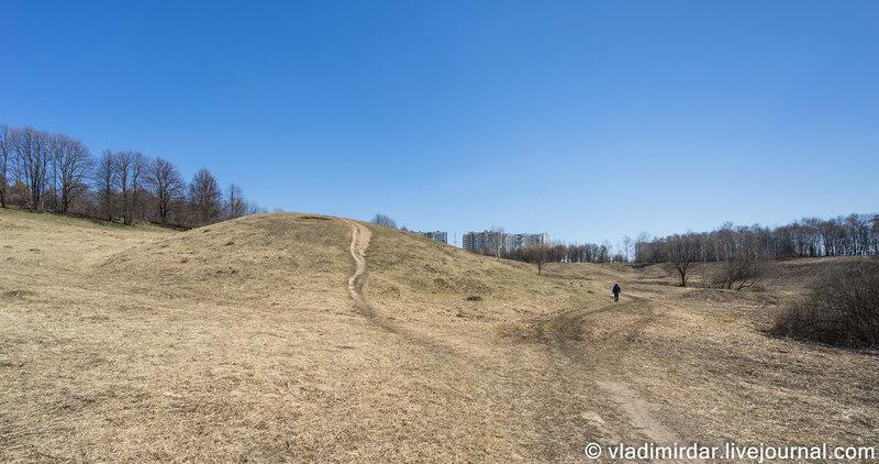 Курганы вятичей в Царицыно. Орехово, 3-й курганный могильник,1 курган (XI - XIII вв).