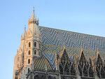 Мозаичная крыша собора