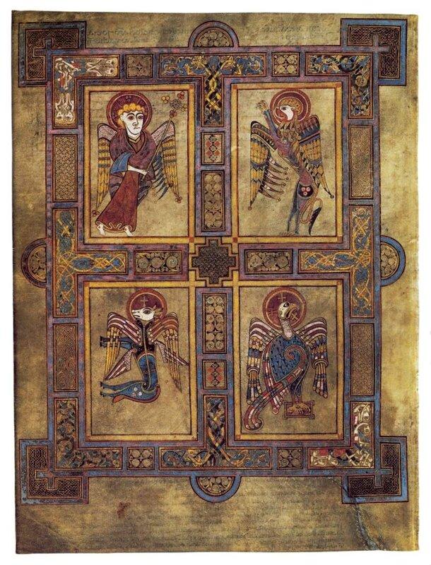 Символы четырех евангелистов