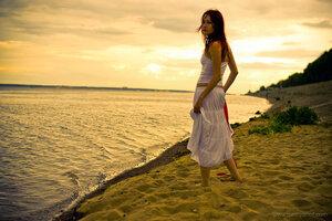 В Турцию! девушка, портрет, Катя, Misty, Чебоксары, город, пляж, набережная, Волга, фотосессия