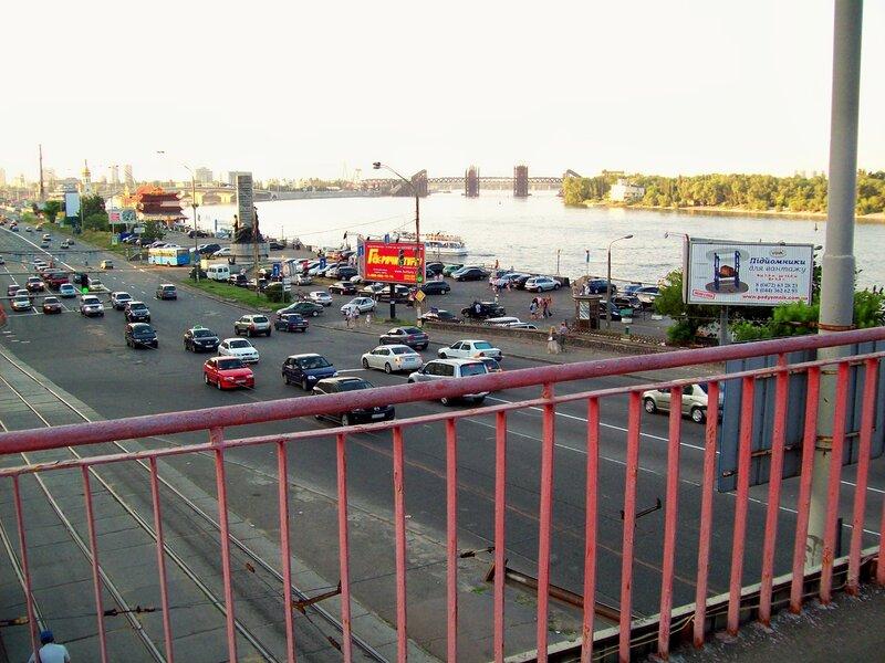 Перила моста на Почтовой площади