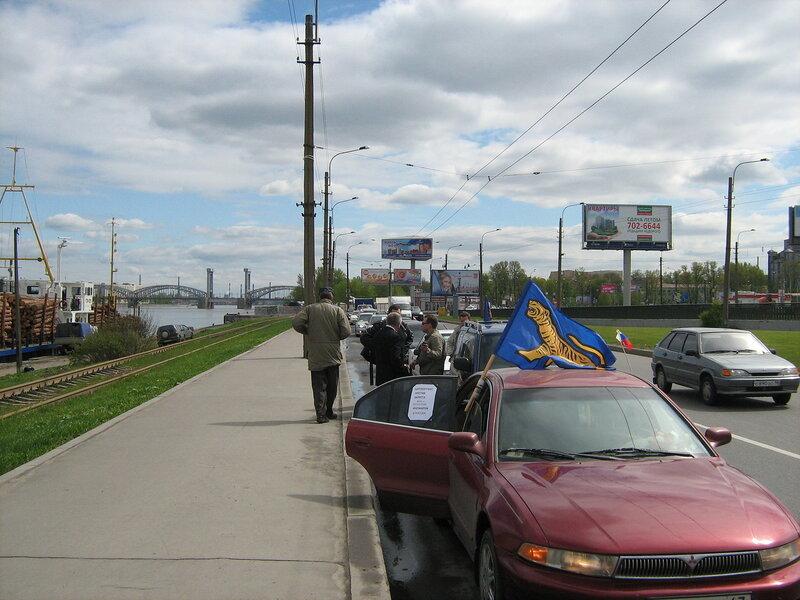 автопробег ТИГРа в Петербурге