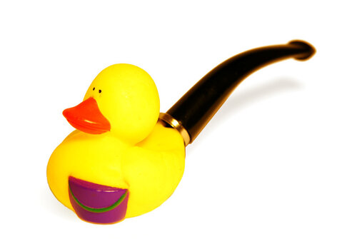 Bent Billiard Duck