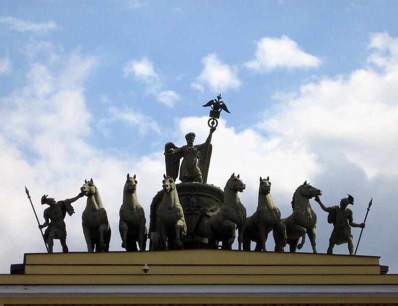 Скульптура Главного штаба