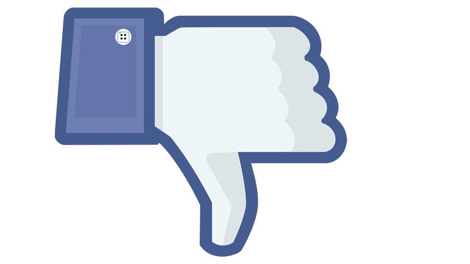 Кнопка «dislike» поссорит юзеров Facebook?