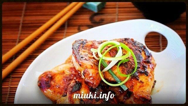 Жареная Курица в соусе Мисо (рецепт)