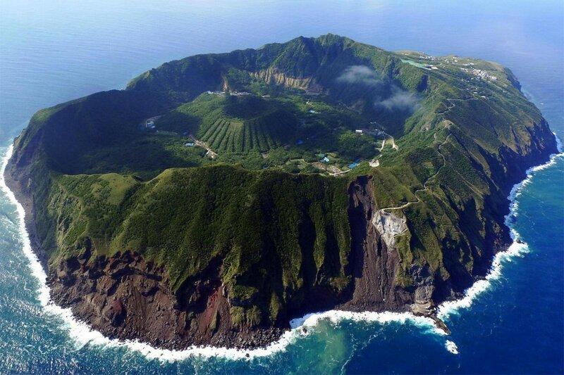 Аогасима - остров-вулкан в Тихом океане