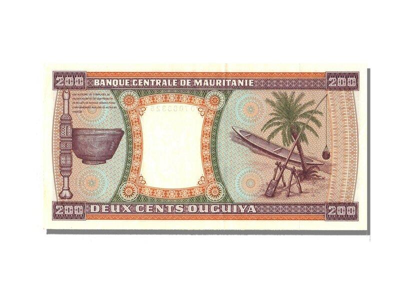 Мавритания, 200 угий, 1974