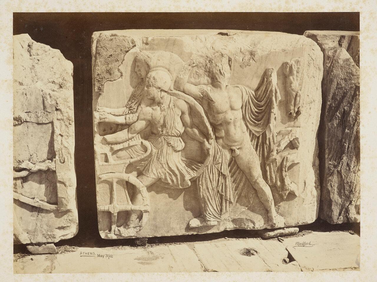 1862. Скульптура из фриза Парфенона
