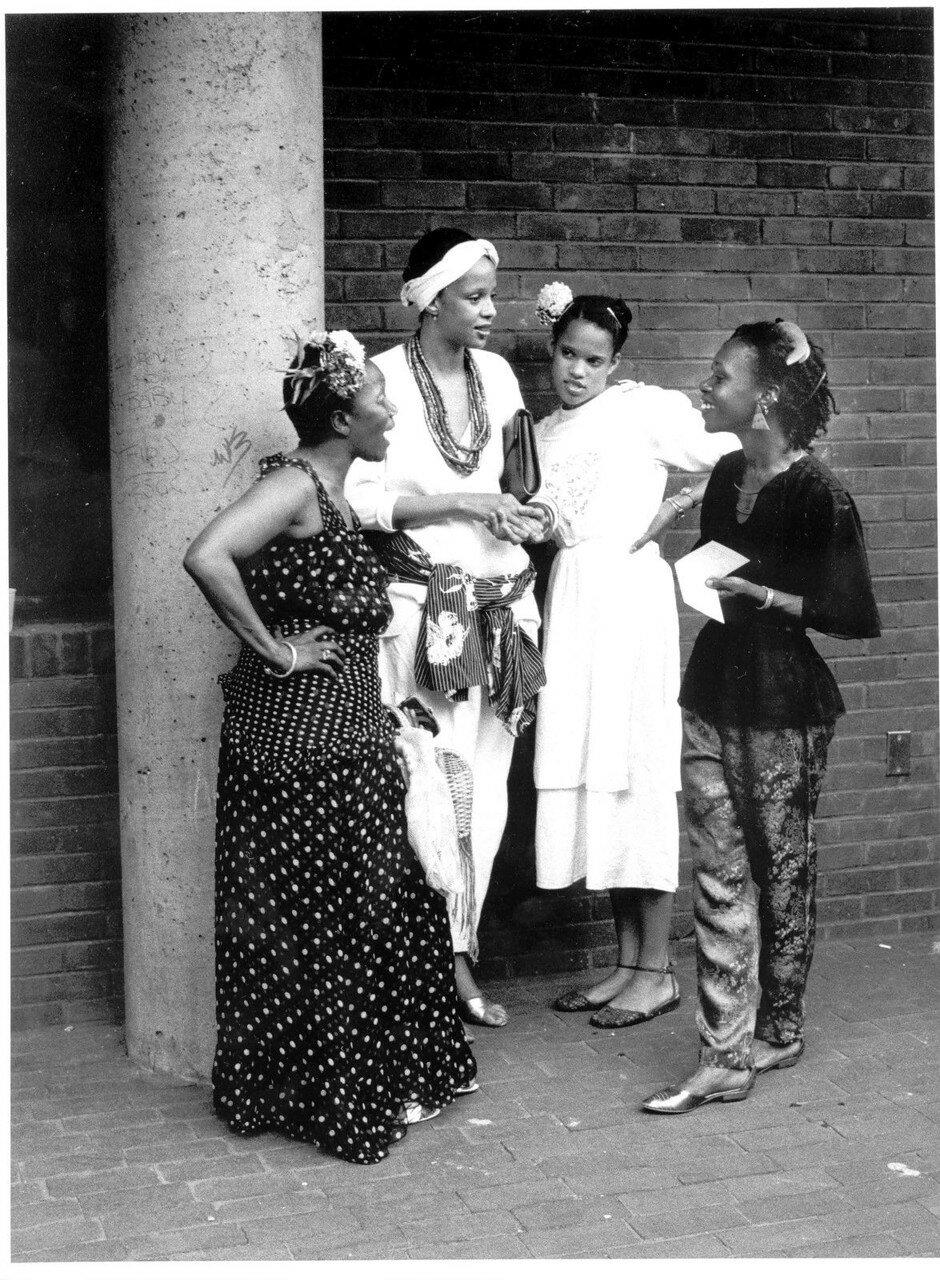 1983. Четыре женщины в Бруклине
